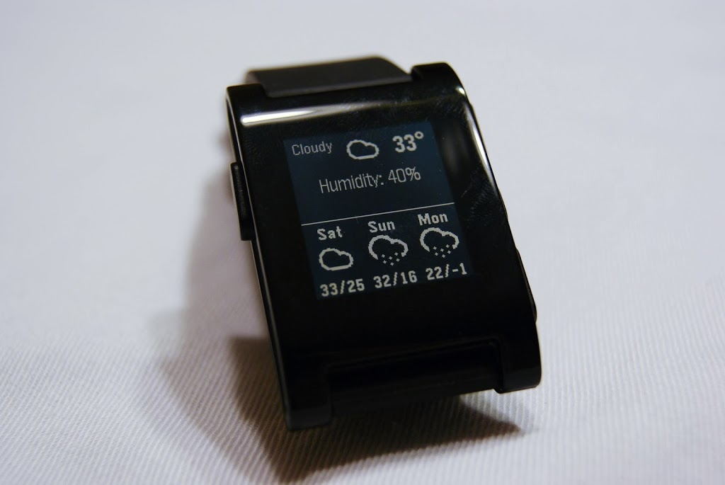 Smartwatch+ Weather Application